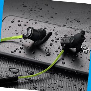 Sweat resistant headphones
