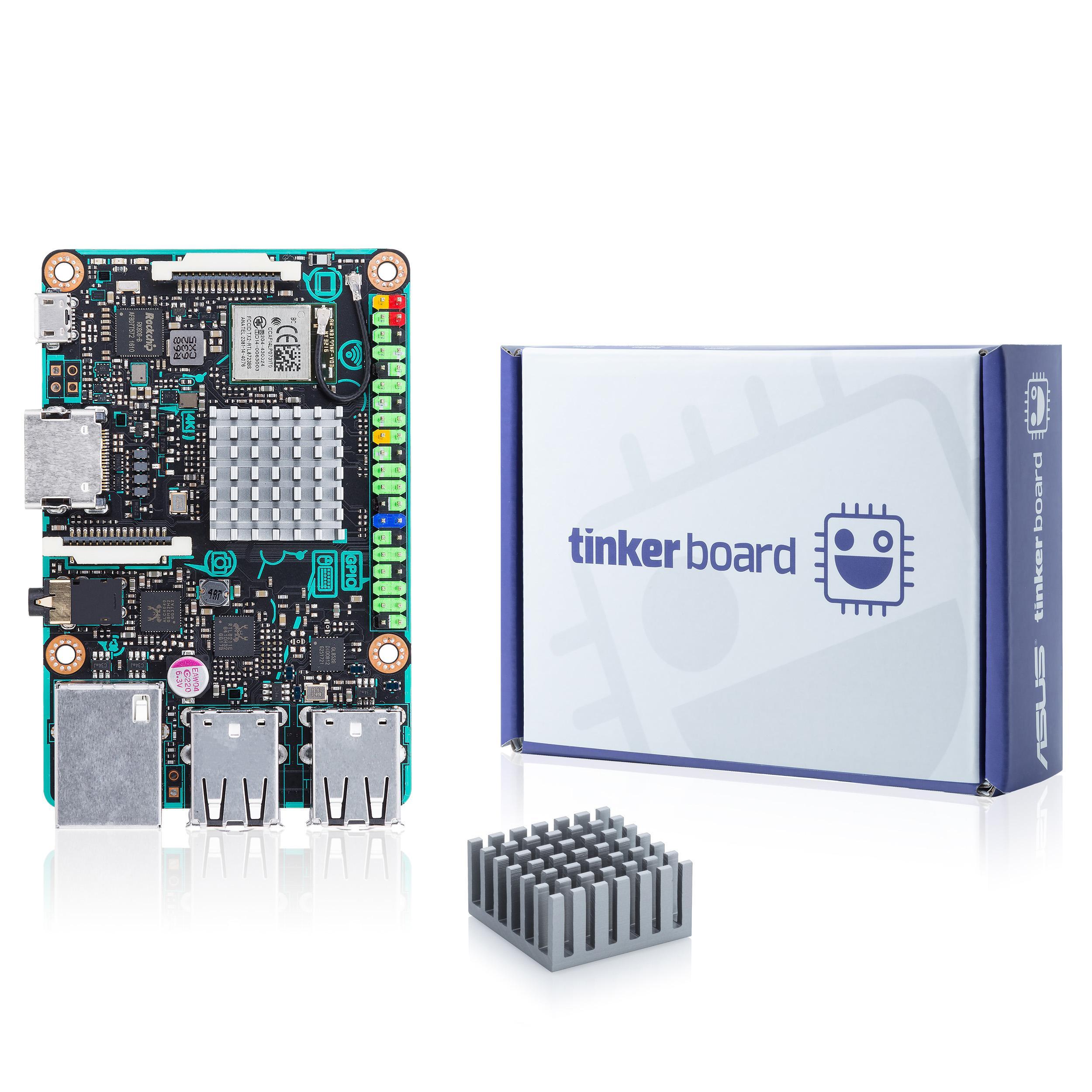 ASUS SBC Tinker Board RK3288 SoC 1 8GHz Quad Core CPU