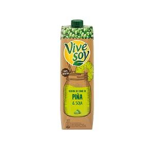 Vivesoy Zumo de Piña y Soja 1 Litro