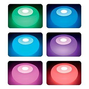 Intex 68697 Poggia Piedi Luminoso con Batterie Ricaricabili 86X33 cm