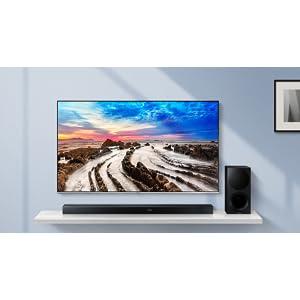Samsung HW-M550 3 1 Channel 340 Watt Wireless Audio Soundbar (2017 Model)