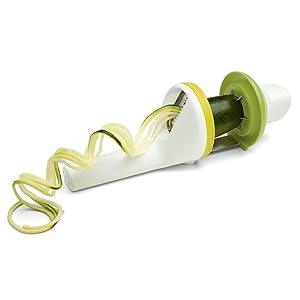 Chef'n Twist Handheld Spiralizer Zucchini Twist Product Shot