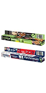 Cookina Barbecue /& Cuisine Non-Stick Grilling and Cooking Sheet Combo Pack EC263665