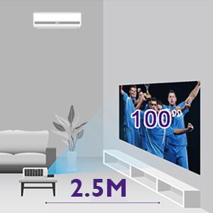 benq short throw sports projector