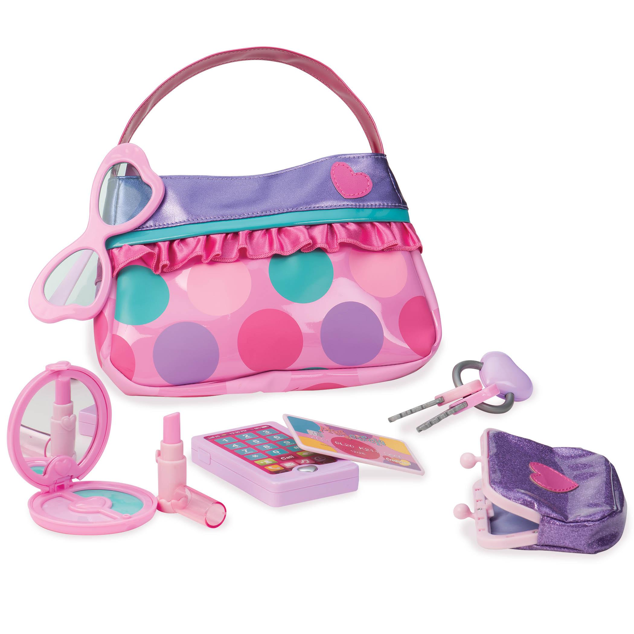 Amazon.com: Play Circle Purse Set Pretend Play for Kids