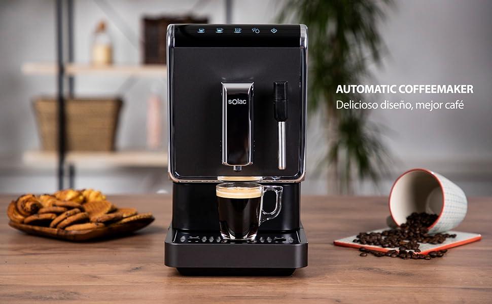 Solac-CA4810 Automatic Coffeemaker. Cafetera Súper Automática,19 ...