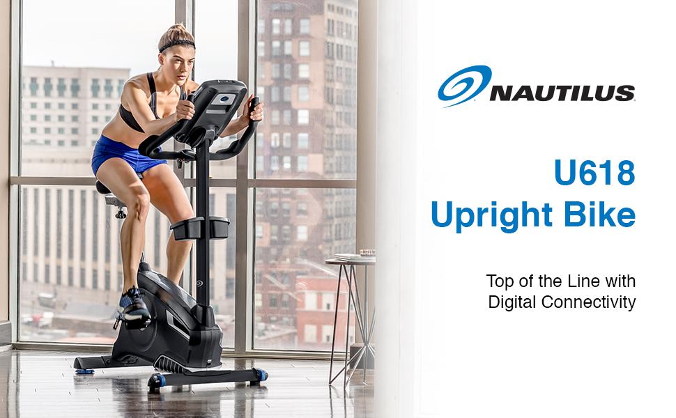 Nautilus U618 Upright Bike