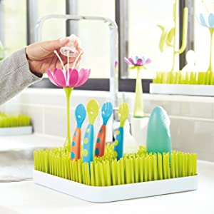 Boon STEM drying rack bottles nipples sippy cups