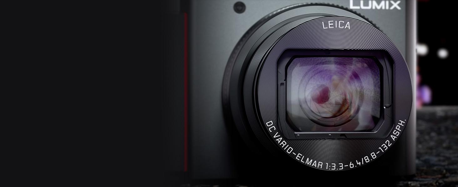 Panasonic LUMIX ZS200 Leica DC lens