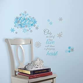 Frozen Peel And Stick Wall Decals, Peel And Stick Wall Decals Part 69
