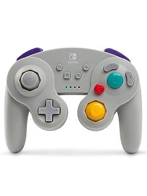 Controlador inalámbrico mejorado PowerA para Nintendo Switch/GameCube - Umbreon: Amazon.es: Videojuegos