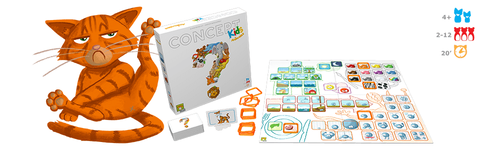 Asmodee - Concept Kids - Español (CKASP01): Amazon.es: Juguetes y ...