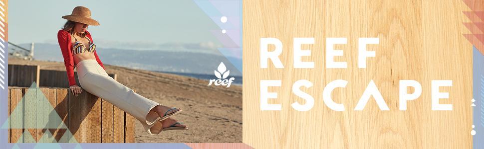 REEF, Sandals, comfort, Cushion, Womens, escape, rubber