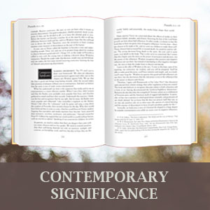 Contemporary significance