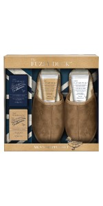 Baylis & Harding Fuzzy Duck Men's Ginger & Lime Luxury Slipper Set