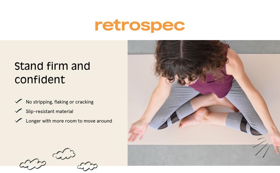 retrospec yoga mat
