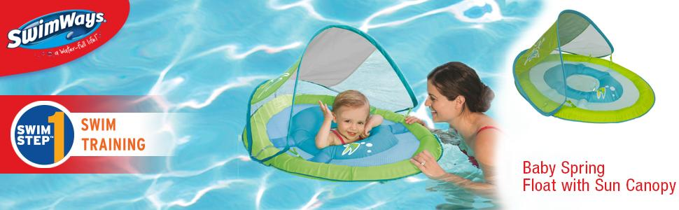 From the manufacturer  sc 1 st  Amazon.com & Amazon.com: SwimWays Baby Spring Float Sun Canopy: Toys u0026 Games