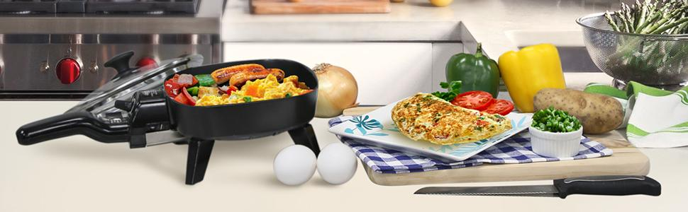 Electric Frying Pan For Camping