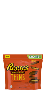 Reese's, Reeses, Peanut Butter, Milk Chocolate, Candy, Reese's Thins, Reeses thins, Hershey, candy