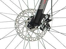 Cambios shimano moma MTB montaña bici bicicleta aluminio unisex 26 mountaibike frenos discos