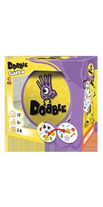 Dobble, Asmodee, Juego de cartas, Fun Fast Games, Zygomatic