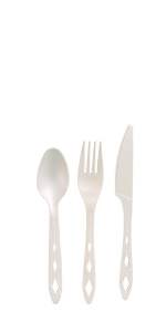 compostable cutleries, fork, knife, spoon