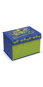 Fabric Toy Box, Nickelodeon Teenage Mutant Ninja Turtles