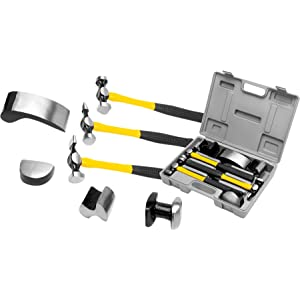Wilmar; Performance Tool; Hammer; Auto body repair; Dolly; Sheet metal; Automotive; Dent puller;