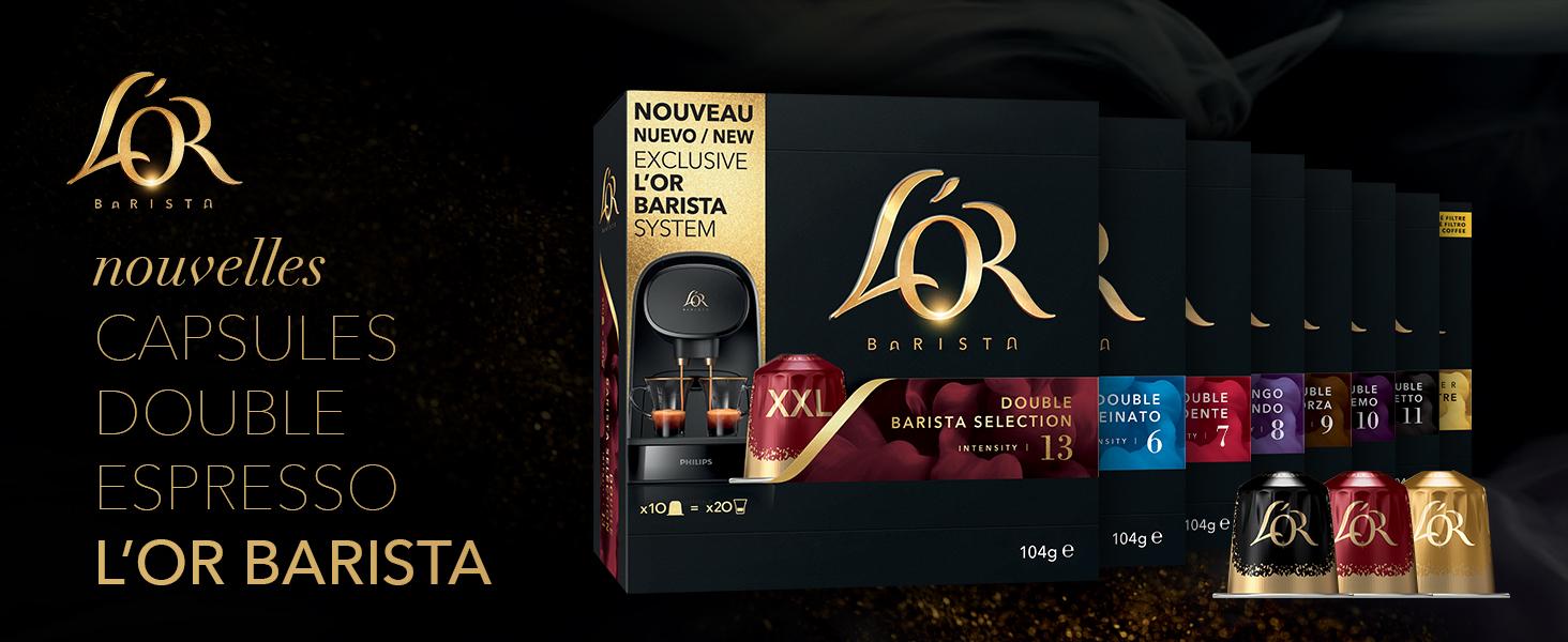 Nouvelles capsules L'Or Barista Double Espresso