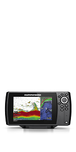 Amazon com: Hummingbird Helix 7 Fish Finder 410950-1, CHIRP