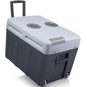 Tristar KB-7540 Nevera portátil Termo eléctrica, Gris, 40 litros ...