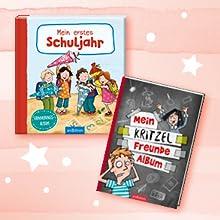 Zwei Schul- und Erinnungsalben ab 6 Jahren, Mein erstes Schuljar und Mein Kritzel-Freundealbum