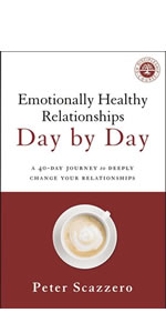 Emotionally Healthy Relationships Day by Day, EHR devotional, EHS, Emotionally Healthy Spirituality