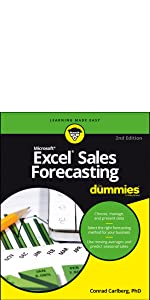 excel, excel sales forecasting, sales forecasting, dummies