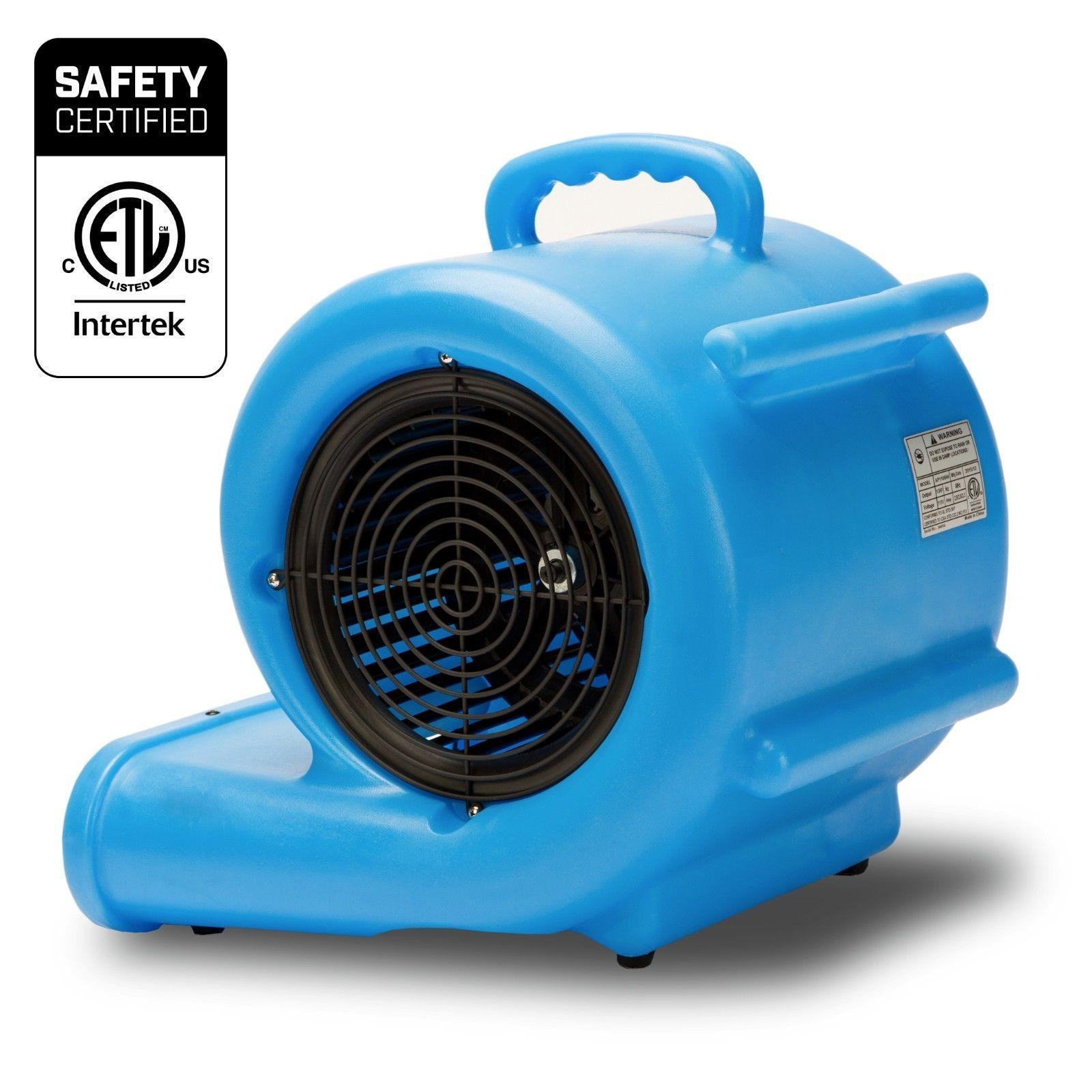 BlueDri e 29 1 3 HP 2900 CFM 2 9 AMPS Portable Fully Stackable