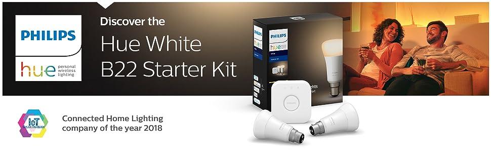 Hue white B22 starter kit
