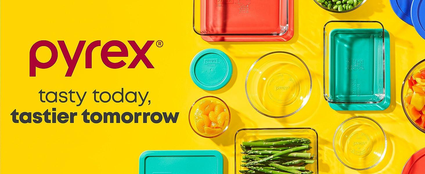 Pyrex Australia, Simply Store Glass Storage, BPA Free Lids, Dishwasher Safe, Freezer Safe, Oven Safe