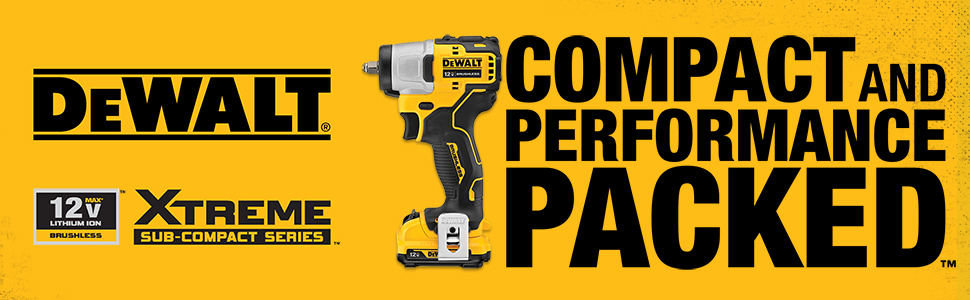 Tool Only Dewalt DCF902 12V 3//8in Xtreme Brushless Sub-Compact Impact Wrench