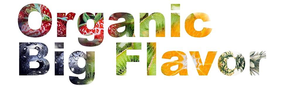 Organic, Big Flavor