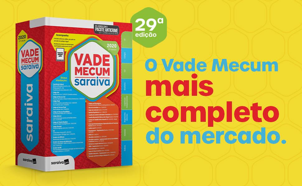 Vade Mecum Saraiva 2020 - Tradicional - 29ª Edição