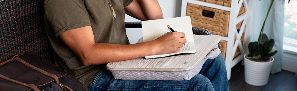lap desk, lapgear, wood desk, heritage, laptop, mobile desk