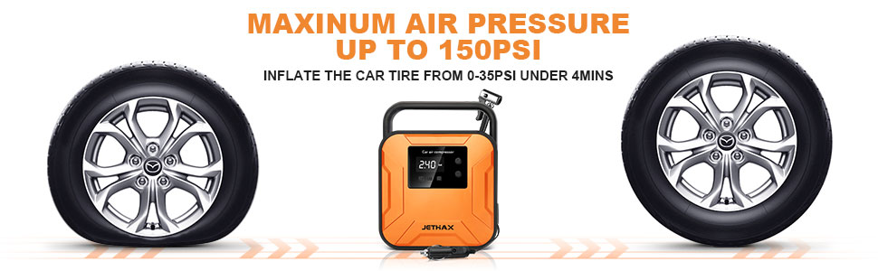 AIR PRESSURE UP TO 150PSI