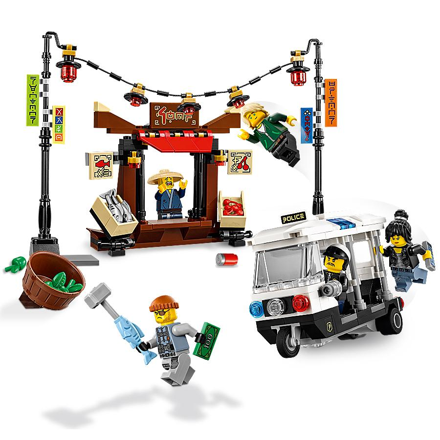 lego ninjago movie city chase 70607 building. Black Bedroom Furniture Sets. Home Design Ideas