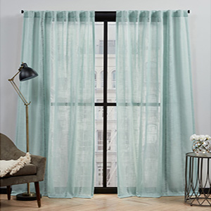 blue curtains, teal blue curtains, kids curtains, window treatment, curtains for bedroom