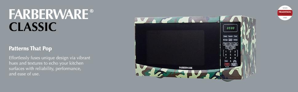 Amazon Com Farberware Classic Fmo09bbtdma 0 9 Cu Ft 900w