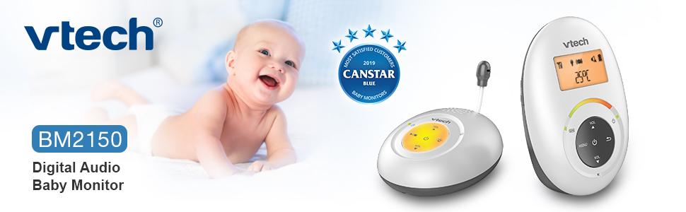 VTech Digital Audio Baby Monitor BM2150