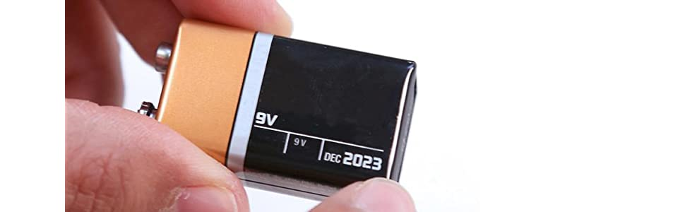 zircon, inside use, 9V battery, alkaline, 9volt, madera, viguetas, fácil, new battery, indoor use