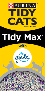 Tidy Cats Tidy Max with Glade Cat Litter package