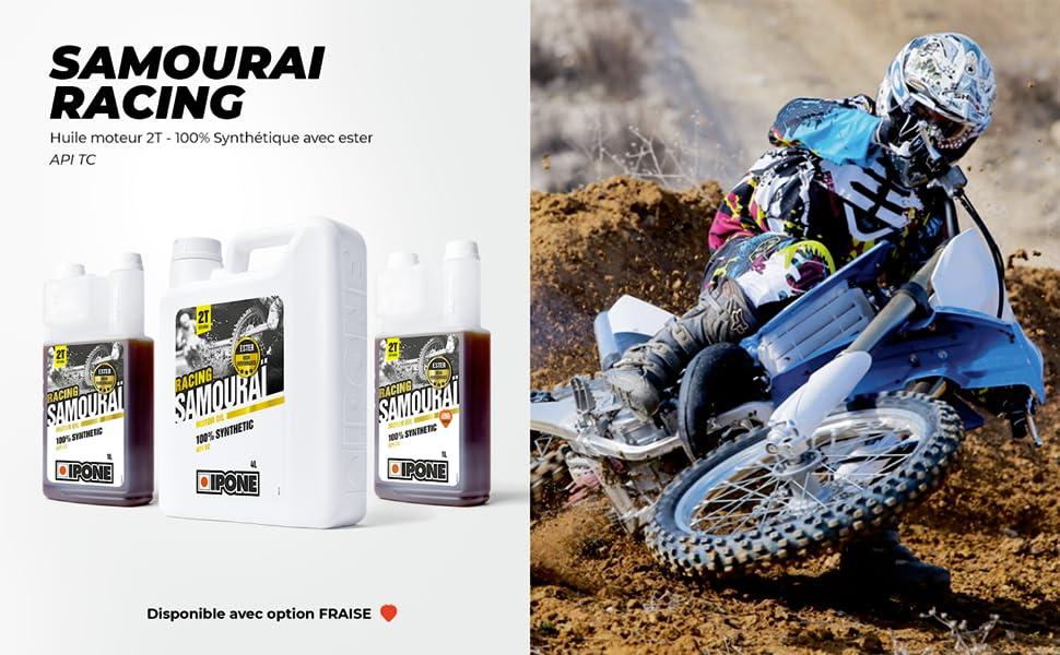 Samourai Racing Ipone 2-takt motorolie