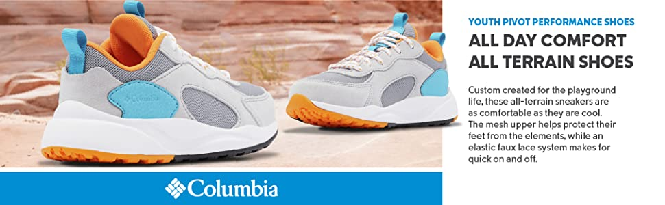 Columbia Youth Pivot Performance shoes